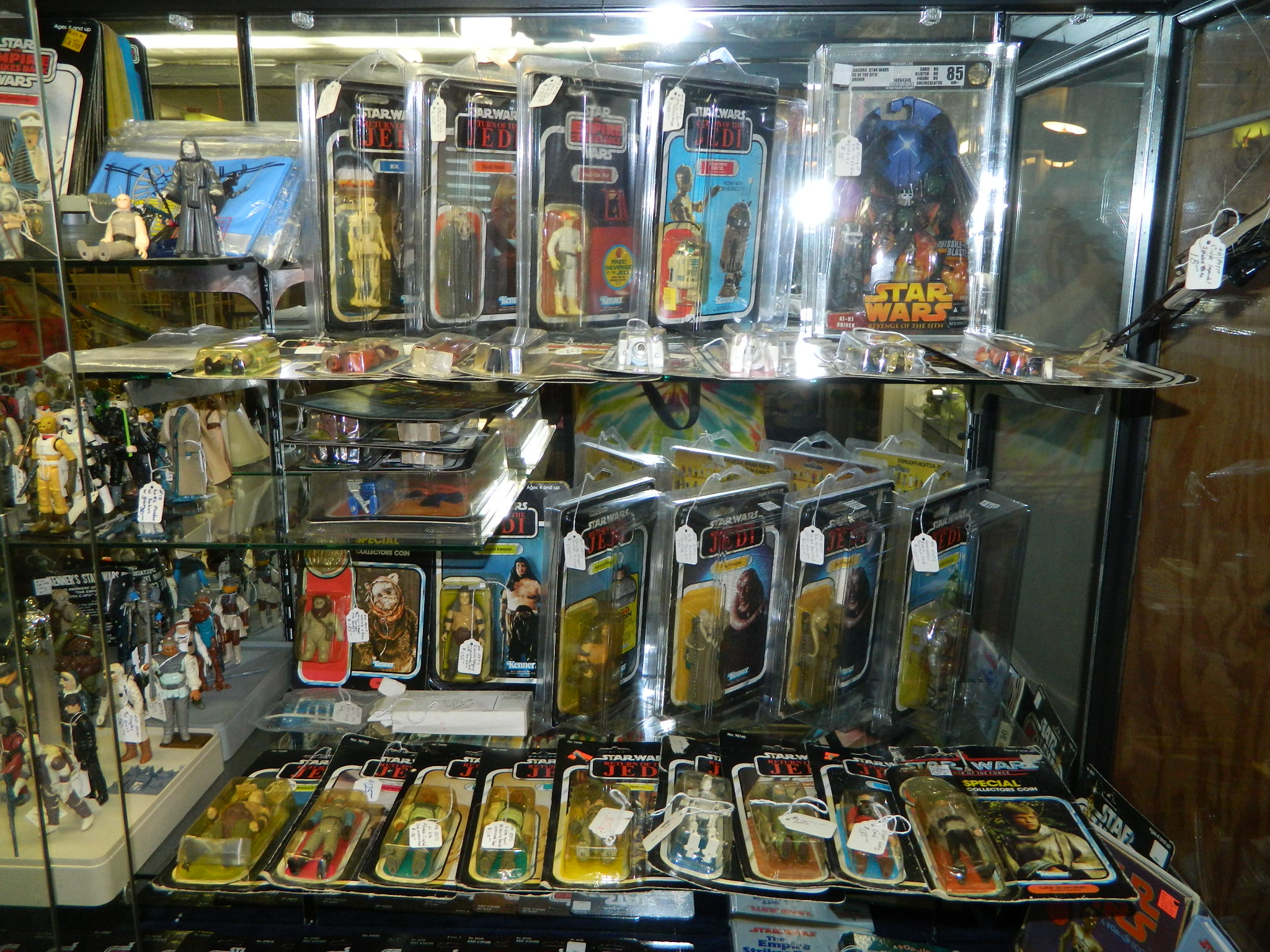 Original Carded Star Wars Figures