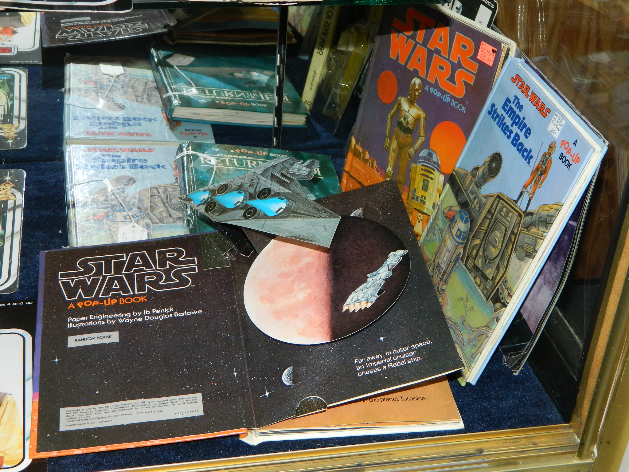 Star Wars Pop Up Books