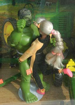 Hulk & Barbie