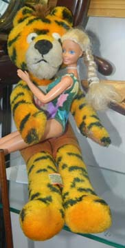 Barbie With Sambo's Tiger