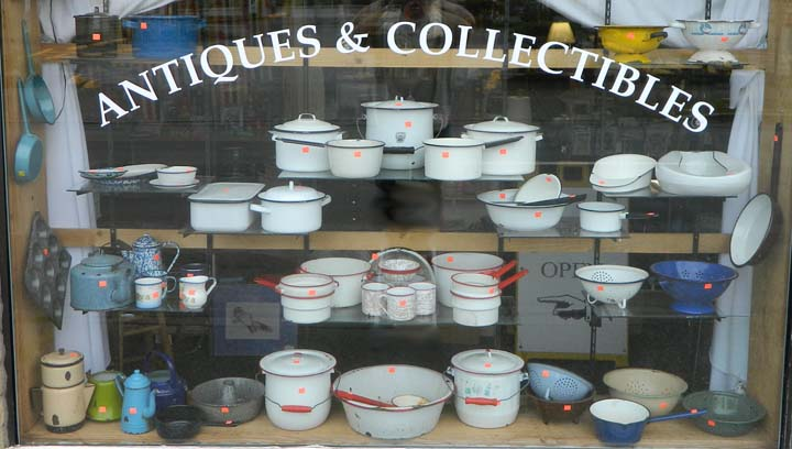 Enamel Ware Window