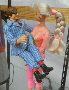 Austin Powers and Barbie