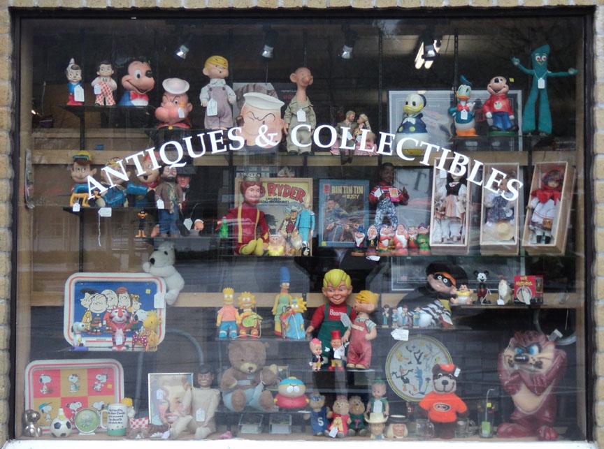 Characters Window Display